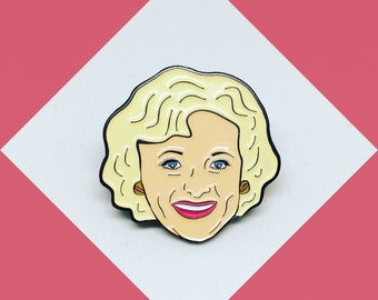 Golden Girls Rose Nylund Enamel Pin
