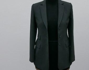Vintage grey Blazer jacket size 40/42 with flaps