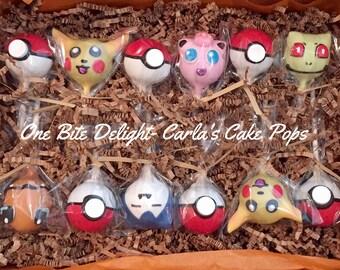 Pokémon Cake Pops, 12 pops