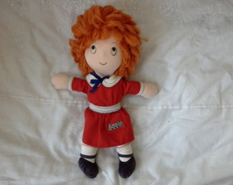Vintage 80s Annie rag doll  by Applause