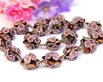 "Elegant classic chain ""Sweety-2"" flowers"