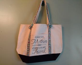 Mother Themed Tote Bag