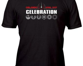 Exclusive Orlando Celebration 2017 Black Custom Shirt All sizes up to Plus 5x