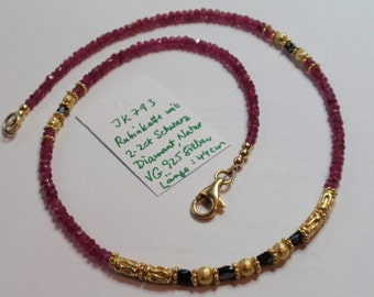 Pink Ruby Necklace (JK 793)