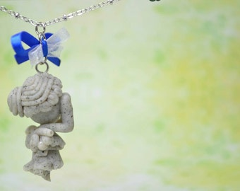 Doctor Who Inspired Weeping Angel Necklace
