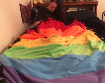 Gay Pride Blanket