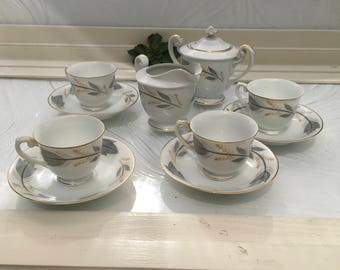 Vintage Jyoto Fine China Japan Tea Set/Free Shipping in the US