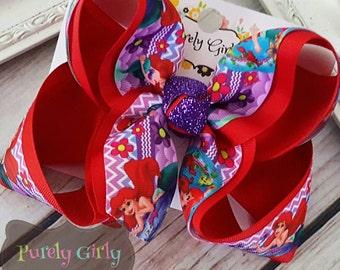 Ariel Hairbow Mermaid Bow Large Hair Bow