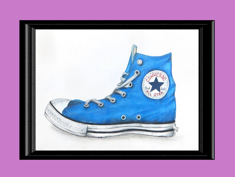 """CONVERSE Scarpe DONNA Shoes /""""All Star HI Glitter/"""" Originali NUOVE Strass Af 2 C"""