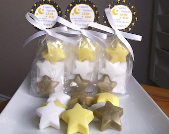 Twinkle Twinkle Little Star Baby Shower, Twinkle Little Star Baby Shower Favors, Twinkle Star Baby Shower, Baby Favors - Set of 10