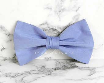 Periwinkle Bow Tie Men Adult Groomsmen Matching Bowtie with TDY Infinity Dress