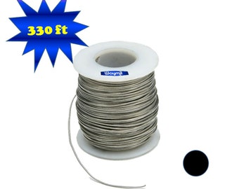 Nickel Silver Wire 20 Gauge Round 330 FT 1 Lb Spool Jewelry Findings Metal Design Wa 845-208