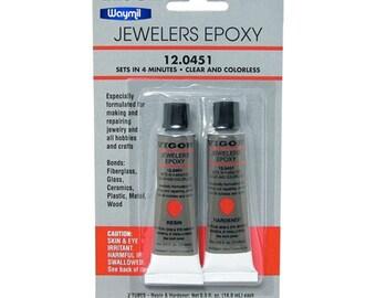 Epoxy 2 Part Adhesive Set For Jewelers Making Repairing Beaded Jewelry & Crafts 130-001