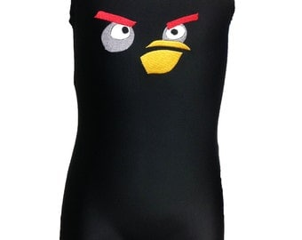 black bird gymnastics leotard for boys