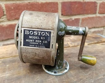 Vintage Boston Model KS Pencil Sharpener