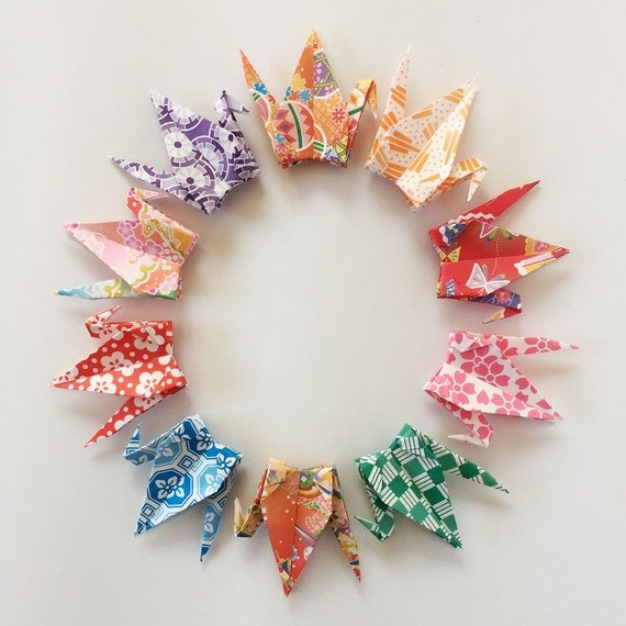 1000 3 multi pattern washi chiyogami origami paper for 1000 paper cranes wedding decoration