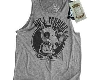 Bull Terrier Dog Men's Gym Tank Top