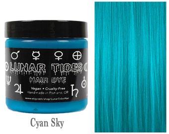 Turquoise Hair Dye