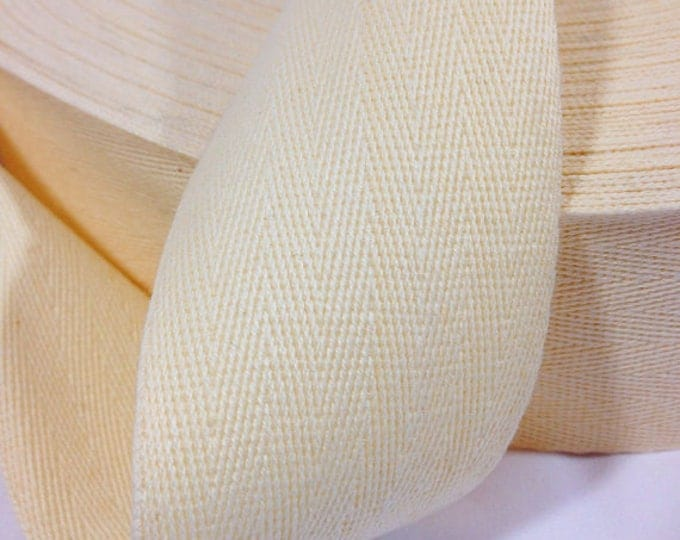 Cotton Twill Tape – 2 inches wide - BTY