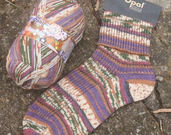 Discjockey 9316 - Opal Illusion - 4 ply self patterning sock yarn.