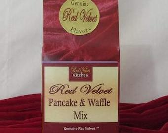 Red Velvet Pancake & Waffle Mix