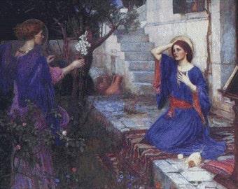 The Annunciation PDF Cross Stitch Pattern