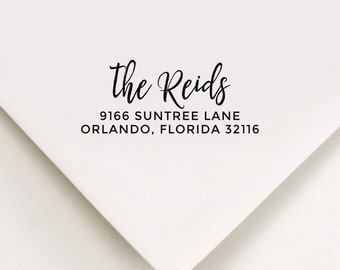 Return Address Stamp, Custom Stamp, Self Inking Stamp, Wedding Address Stamp, Custom Address Stamp, Housewarming Gift, Be Smart