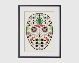 BUY 2 Patterns and GET 1 FREE -- Jason Cross stitch Pattern