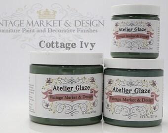 FREE SHIPPING!! Cottage Ivy- Vintage Market & Design's Furniture Atelier Glaze-All Natural(3 Sizes)