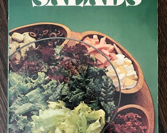 Vintage 1977 First Printing Betty Crocker's SALADS