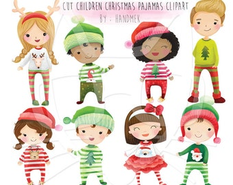 Woodland christmasChristmas Clipart Instant Download PNG file