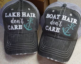 Distressed Hat with your choice of design