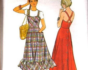 Butterick Vintage 4200 Pattern Misses Dress  UNCUT  Size 8