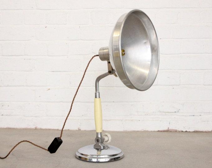 Mid Century German Desktop Medical Lamp