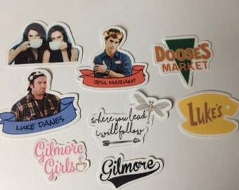 Gilmore Girls Stickers