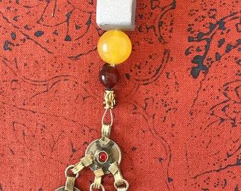 Single Strand Jack Sparrow Jewelry Kuchi Beads Pirate Costume