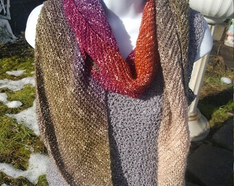 Super soft knit scarf, wrap scarf holiday gift, woman scarf, scarves and wraps calming desert