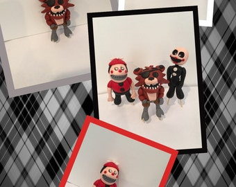 Five nights of Freddy's Fondant Toppers