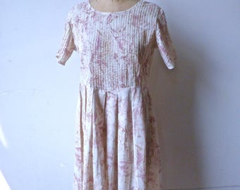 Laura Ashley Floral Cotton Dress