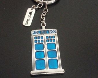 Doctor Who Tardis Key Chain