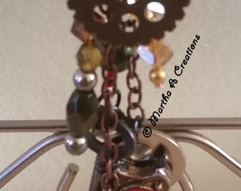 Steampunk Purse Charm