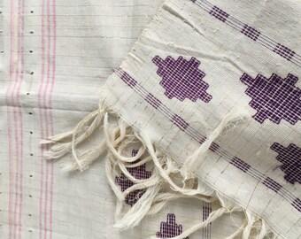 Vtg Mid Century/Hollywood Regency/ Textile - Woven Runner /Weaving