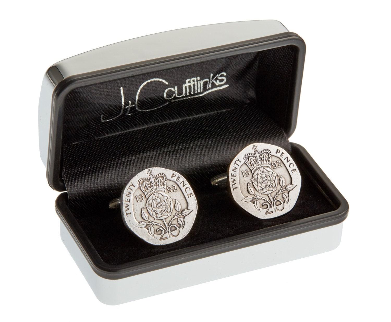 Silver Wedding Gift: 25th Silver Wedding Anniversary Gift In 2017 Coin Cufflinks