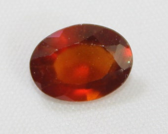 2.80 carat Natural Hassonite garnet faceted cut loose gemstone size 10.60 mm x 7.85 mm x 4.30 mm approx. 0116