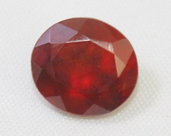 5.75 carat Natural Hassonite garnet faceted cut loose gemstone size 11.40 mm x 10.30 mm x 6.50 mm approx. 0176