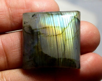 66 carat Natural Labradorite cabochon  Cabochon loose gemstone size 27 mm x 7 mm  approx 0099