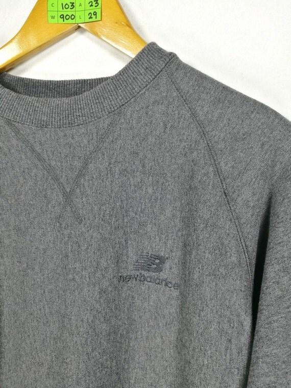 d15b3519bb7 durable modeling SALE 25% NEW Balance Nb Sweater Jumper by  CaptClothingVintage