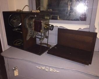 Antique, MC INTOSH, Very Rare, Stereopticon, Magic Lantern, Slide Projector, 1800s