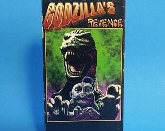 Godzilla's Revenge VHS Tape