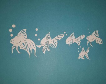 Fish  Family-Set of 5 Fish